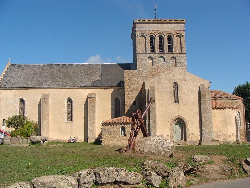 Eglise Saint-Sauveur ile d'yeu