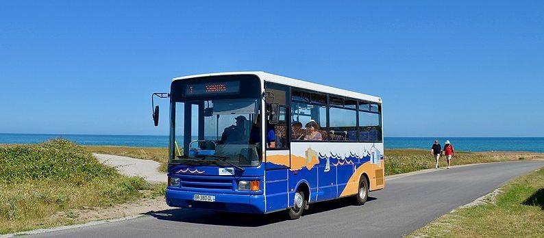 Prendre le bus à l'île d'Yeu