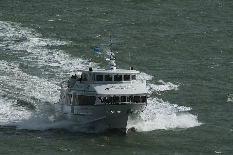 traversée par bateau vers l'île Yeu