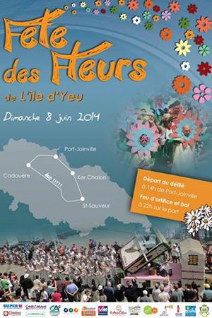 Fête des fleurs ile d'Yeu 2014
