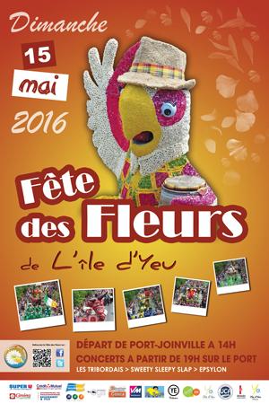 Fête des fleurs ile d'Yeu 2016